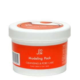 Альгинатная маска J:ON Cleansing & Pore Care Modeling Pack