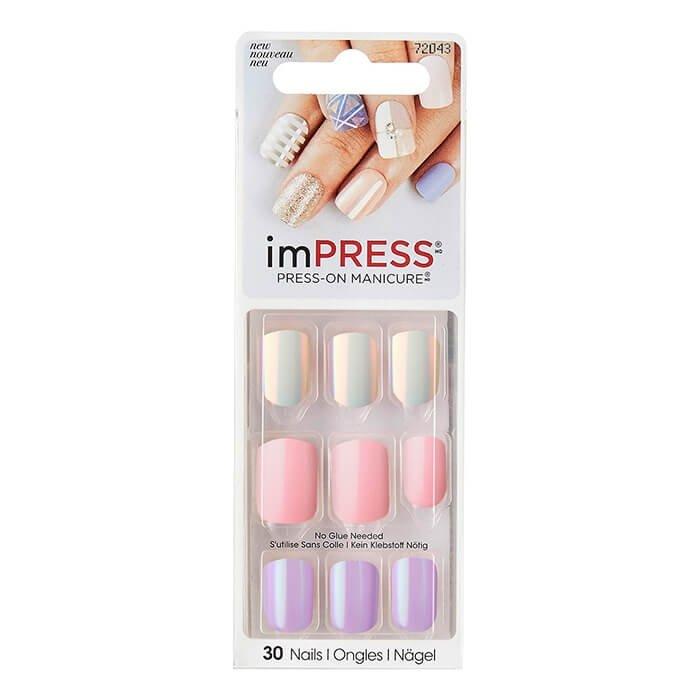 Твердый лак для ногтей Kiss Impress Press-On Manicure