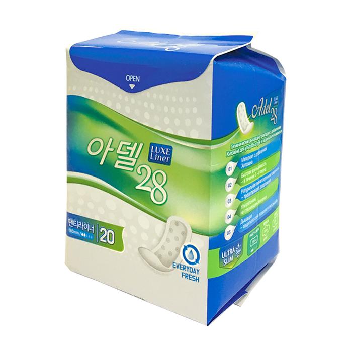 Ежедневные прокладки Adelline Adel 28 Women's Sanitary Napkins Panty Liner