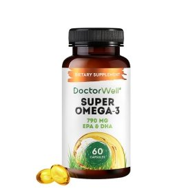 Рыбий жир DoctorWell Super Omega-3