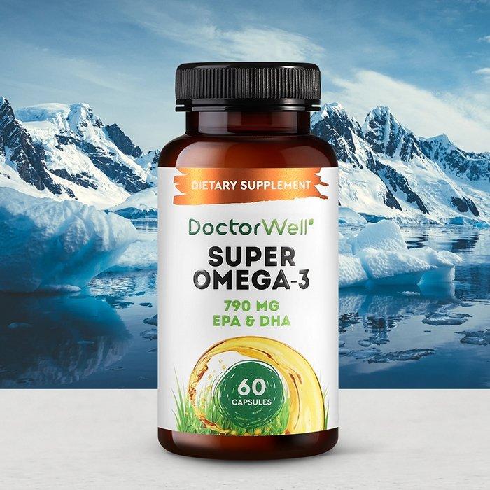 Рыбий жир DoctorWell Super Omega-3