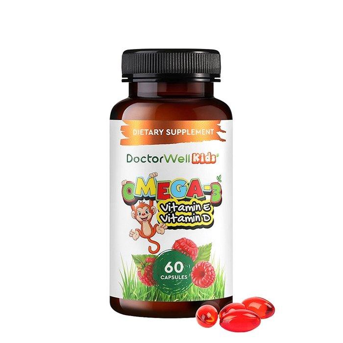 Комплекс для детей DoctorWell Kids Omega-3