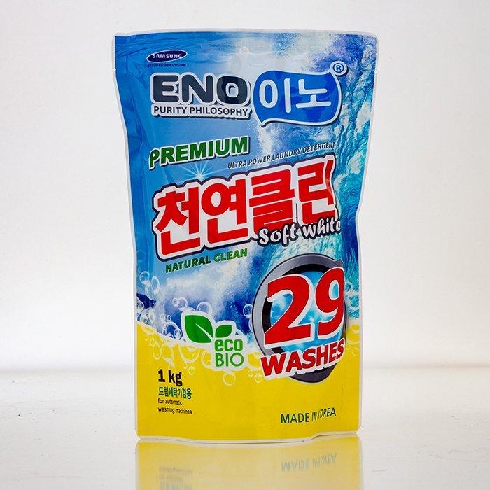 Стиральный порошок Eno Soft White (1000 г в мягкой упаковке)