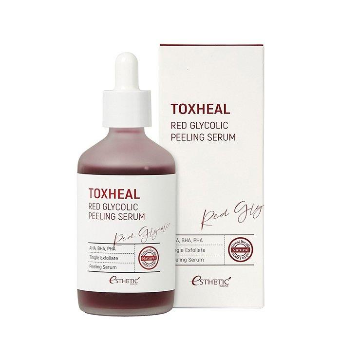 Пилинг-сыворотка для лица Esthetic House Toxheal Red Glycolic Peeling Serum