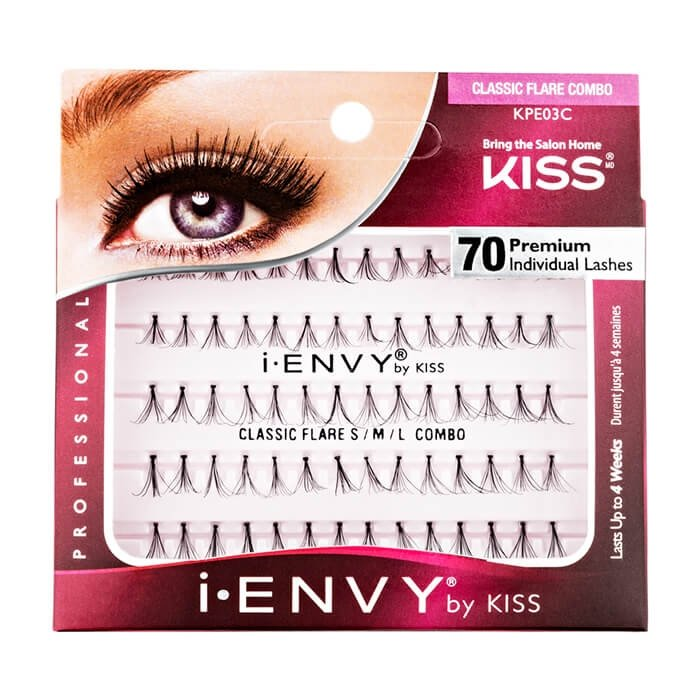 Накладные ресницы-пучки Kiss I Envy Individual Lashes