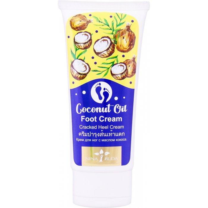 Крем для ног Nina Buda Coconut Oil Foot Cream