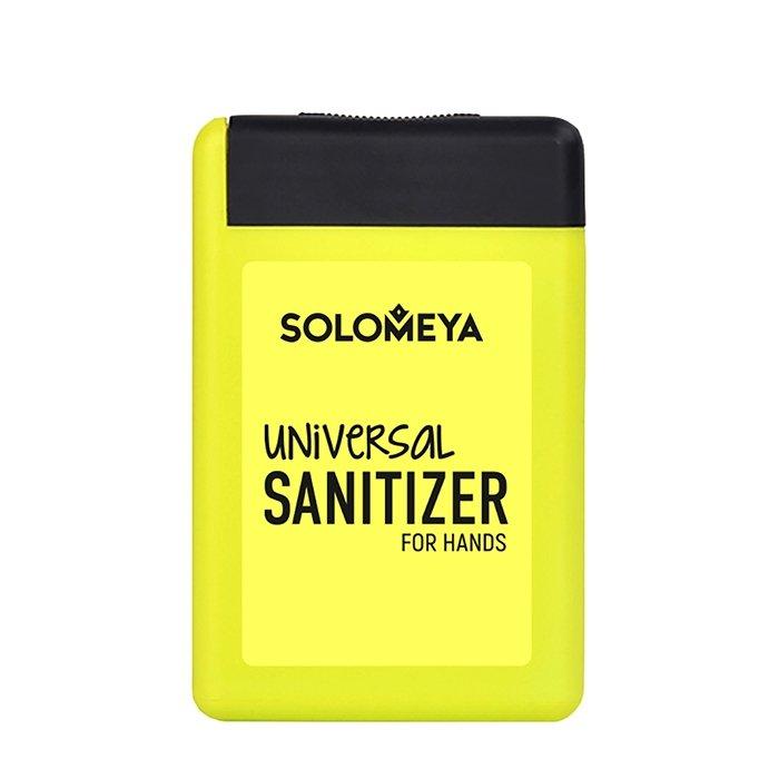 Антибактериальный спрей для рук Solomeya Universal Sanitizer Spray for Hands Lemon