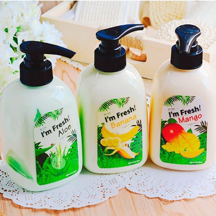 Гель для душа 3W Clinic I'm Fresh Mango Purfume Body Cleanser