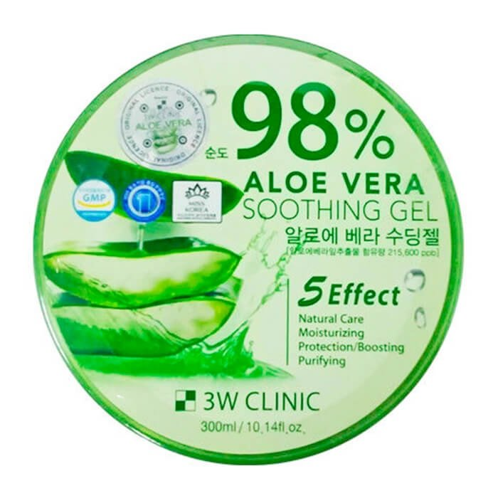 Гель с алоэ 3W Clinic Aloe Vera Soothing Gel