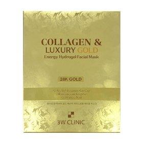 Гидрогелевая маска 3W Clinic Collagen & Luxury Gold Energy Hydrogel Facial Mask