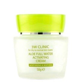 Крем для лица 3W Clinic Aloe Full Water Activating Cream