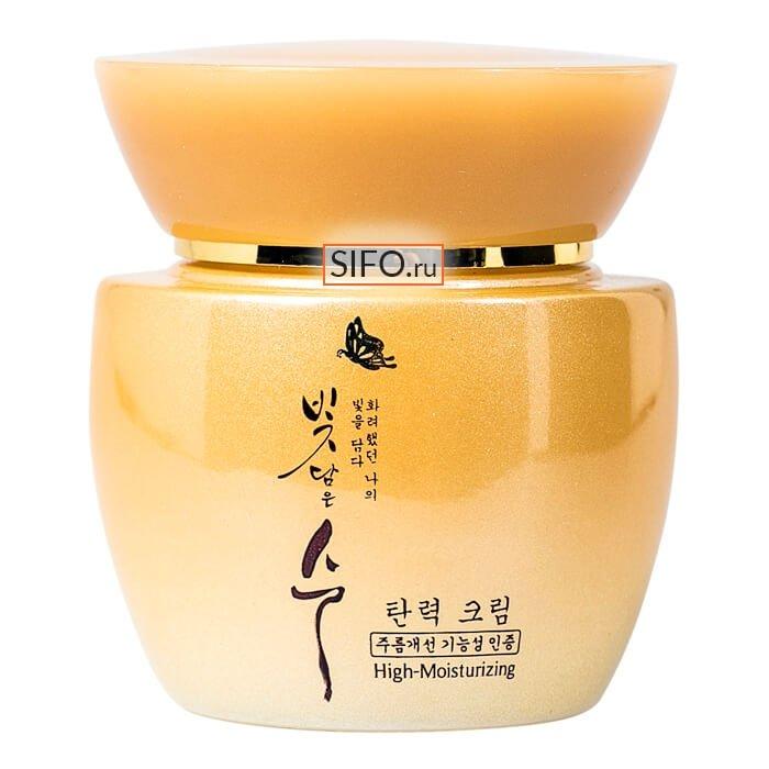 Крем для лица 3W Clinic Bit Dam Eun Soo High-Moisturizing Firming Cream