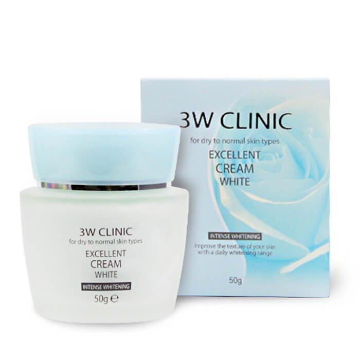 Крем для лица 3W Clinic Excellent White Cream