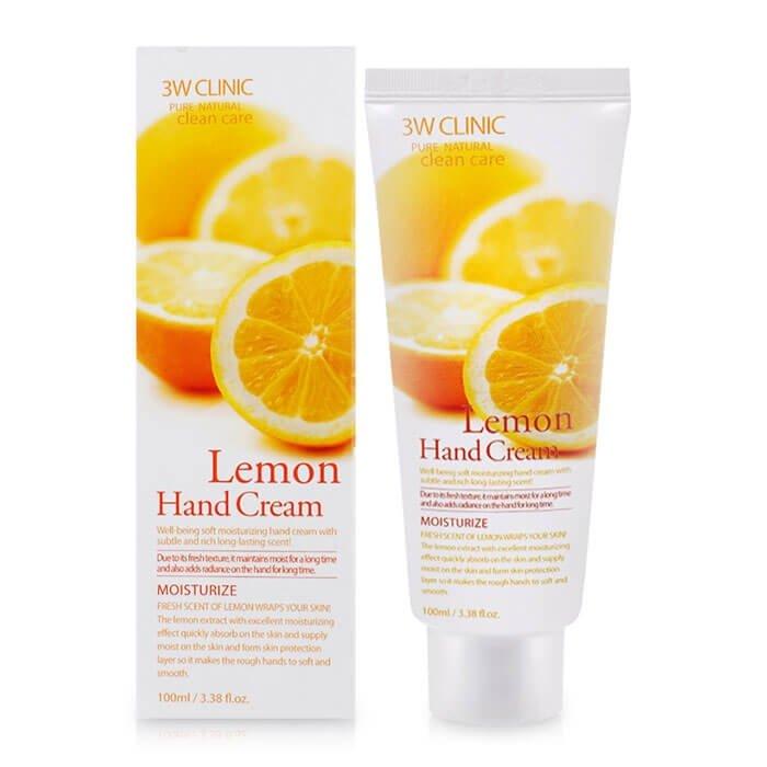 Крем для рук 3W Clinic Lemon Hand Cream