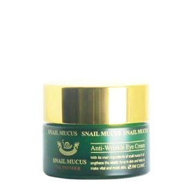 Крем для век 3W Clinic Snail Mucus Anti-Wrinkle Eye Cream
