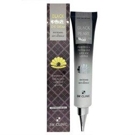Крем для век 3W Clinic Whitening & Anti-Wrinkle Black Pearl Eye Cream