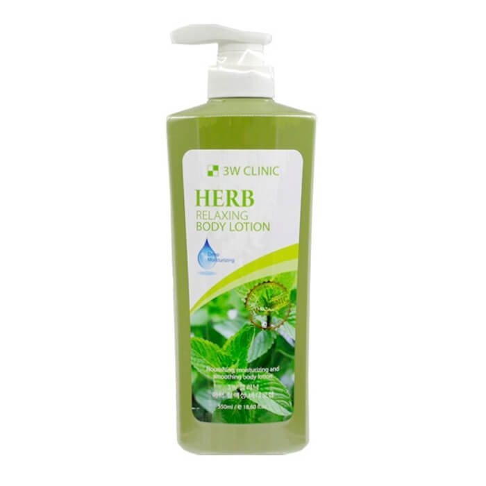 Лосьон для тела 3W Clinic Relaxing Body Lotion Herb