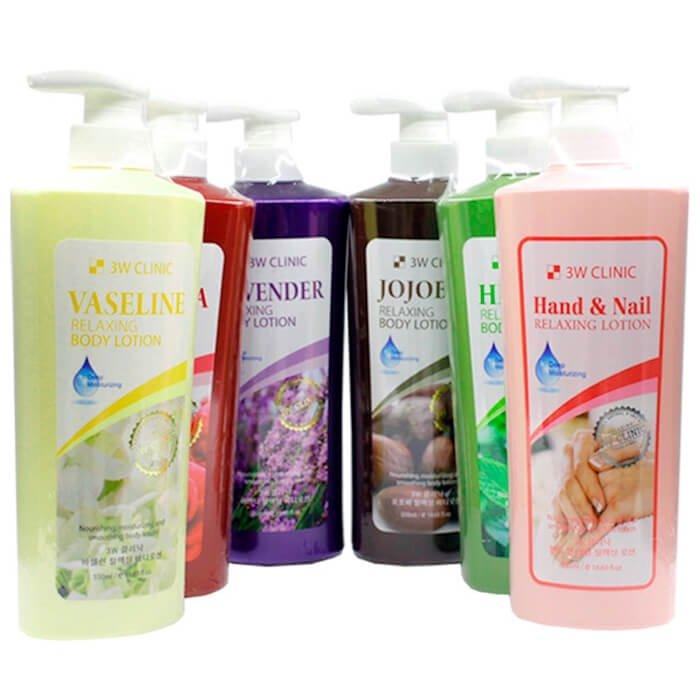 Лосьон для тела 3W Clinic Relaxing Body Lotion Lavender