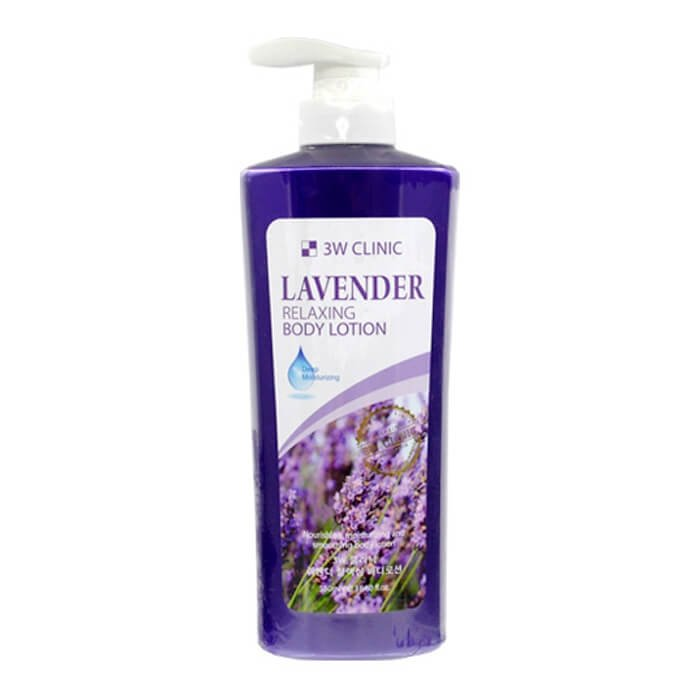 Лосьон для тела 3W Clinic Relaxing Body Lotion Lavender