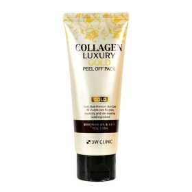 Маска-плёнка 3W Clinic Collagen & Luxury Gold Peel Off Pack