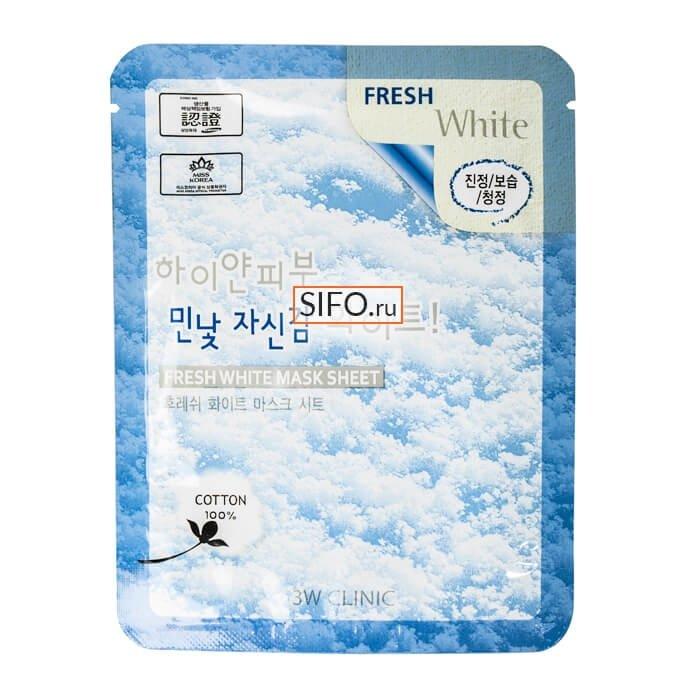 Набор для отбеливания лица 3W Clinic Excellent White Skincare 3 Kit Set