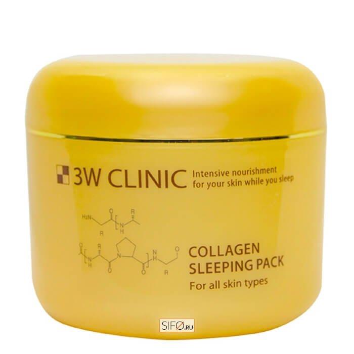 Ночная маска 3W Clinic Collagen Sleeping Pack