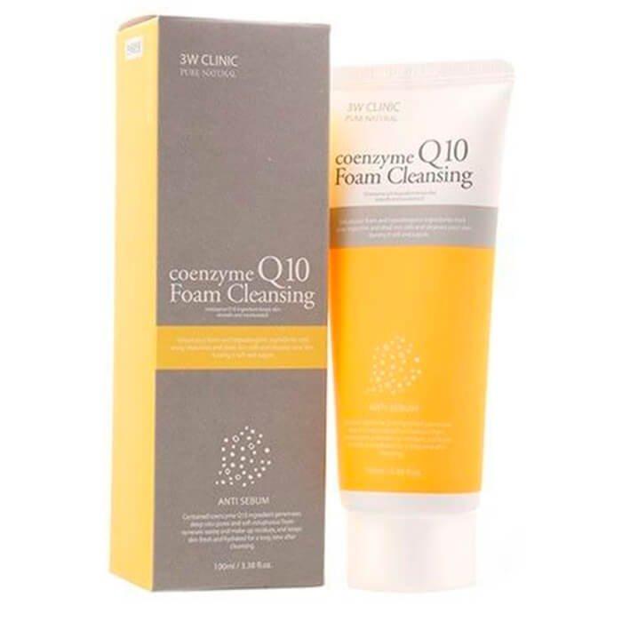 Пенка для умывания 3W Clinic Coenzyme Q10 Foam Cleansing