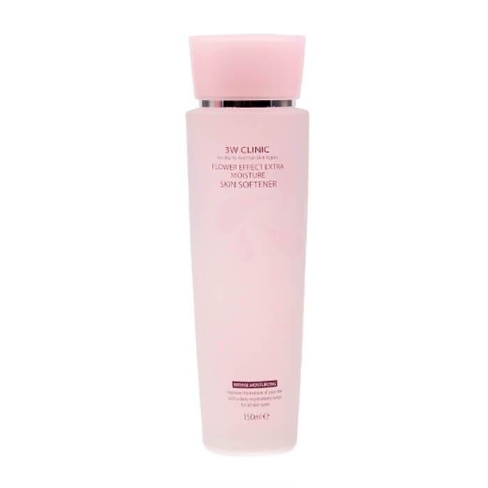 Софтнер для лица 3W Clinic Flower Effect Extra Moisture Skin Softener