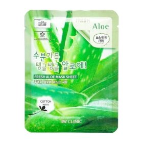 Тканевая маска 3W Clinic Fresh Aloe Mask Sheet
