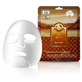 Тканевая маска 3W Clinic Fresh Placenta Mask Sheet