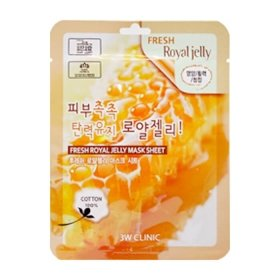 Тканевая маска 3W Clinic Fresh Royal Jelly Mask Sheet