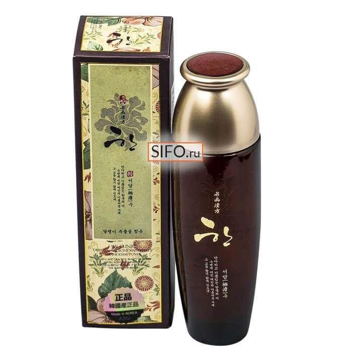 Тонер для лица 3W Clinic Oriental Medicine Masterpiece Han Seodam Moisturizing Toner