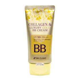 ВВ крем 3W Clinic Collagen & Luxury Gold BB Cream