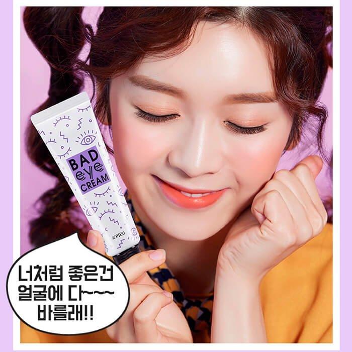 Крем для век A'Pieu Bad Eye Cream For Face