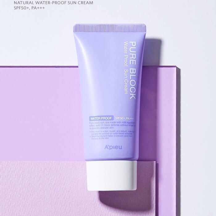 Солнцезащитный крем A'pieu Pure Block Water Proof Natural Sun Cream