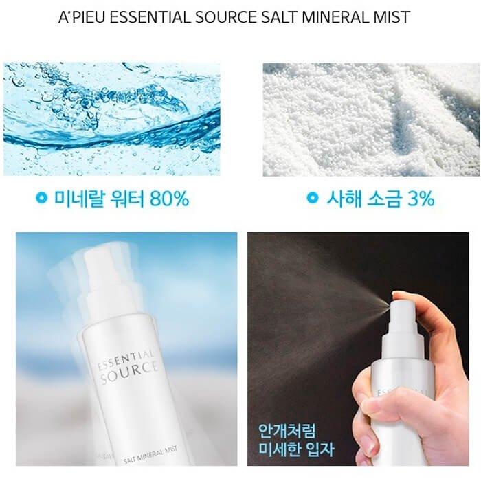 Спрей для лица A'Pieu Essential Source Salt Mineral Mist