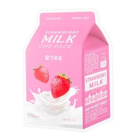 Тканевая маска A'Pieu Strawberry Milk One-Pack