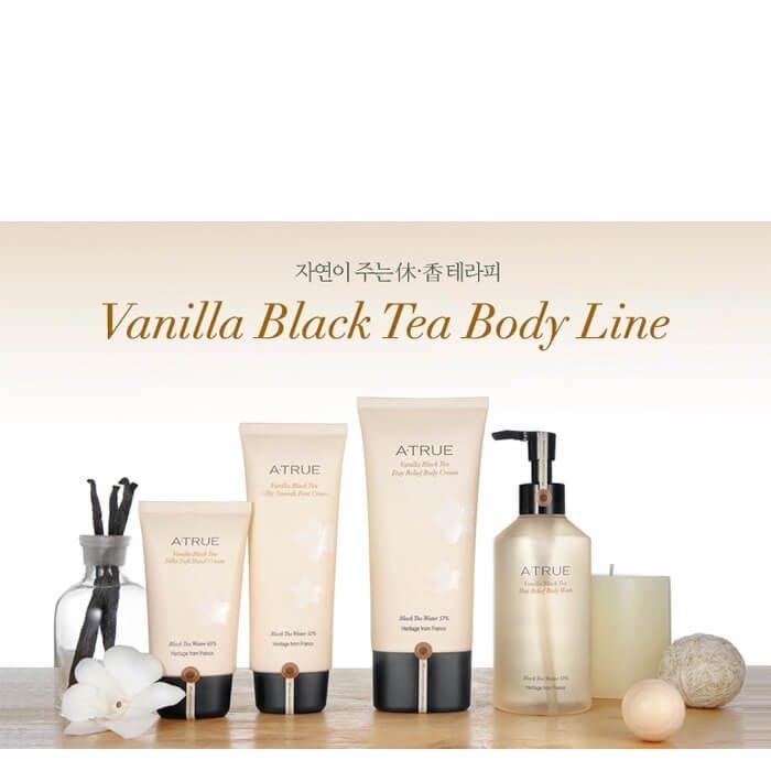 Гель для душа A-True Vanilla Black Tea Day Relief Body Wash