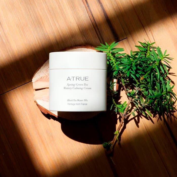 Крем для лица A-True Spring Green Tea Watery Calming Cream