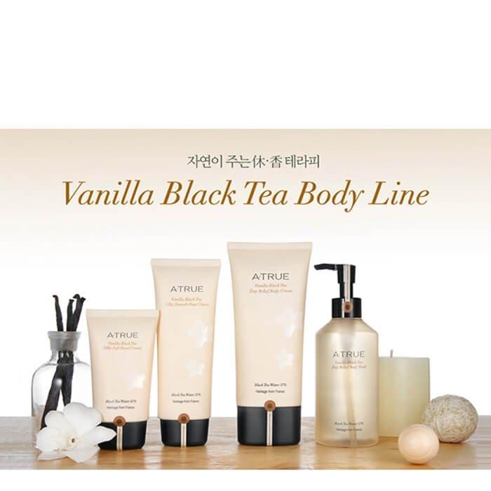 Крем для рук A-True Vanilla Black Tea Silky Soft Hand Cream