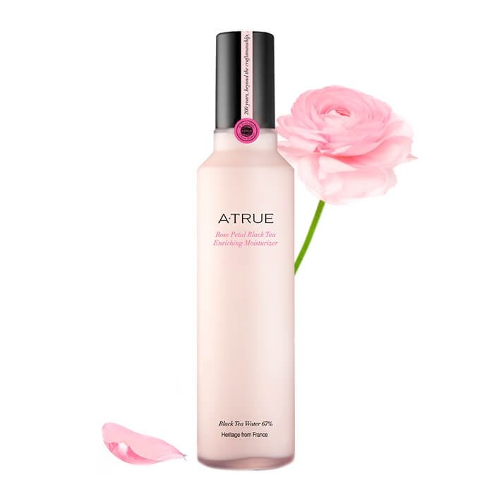 Лосьон для лица A-True Rose Petal Black Tea Enriching Moisturizer