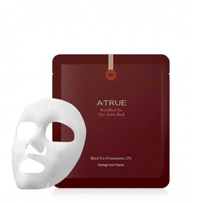 Набор масок A-True Real Black Tea True Active Mask