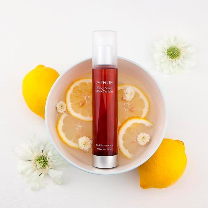 Мист для лица A-True Honey Lemon Black Tea Mist