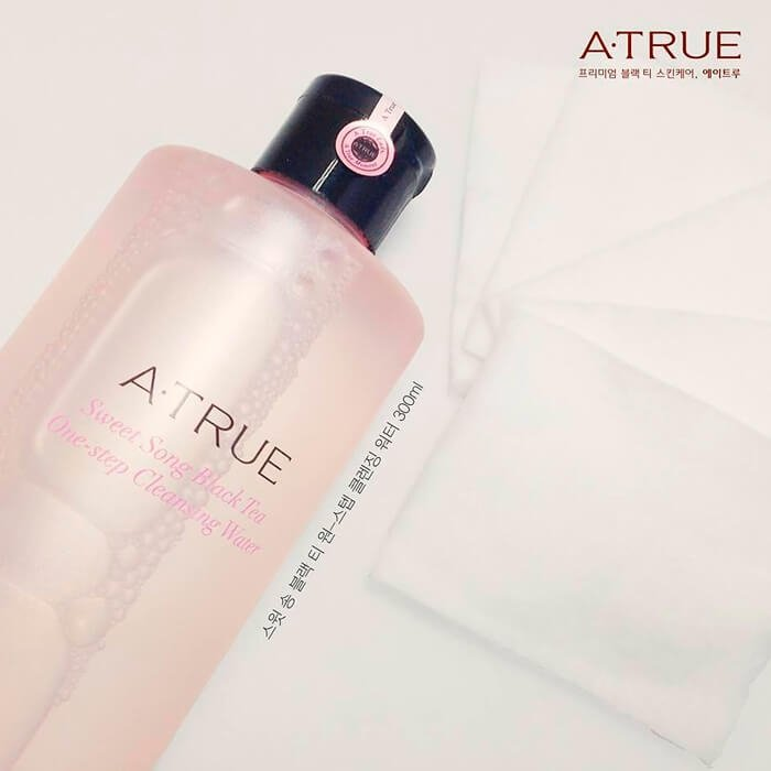 Очищающая вода A-True Sweet Song Black Tea One-step Cleansing Water