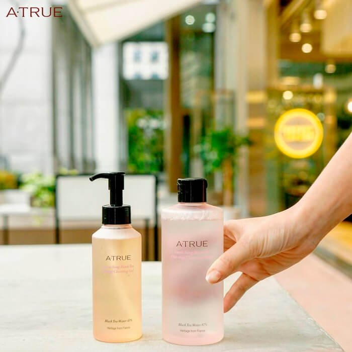 Очищающий гель A-True Sweet Song Black Tea Energy Cleansing Gel