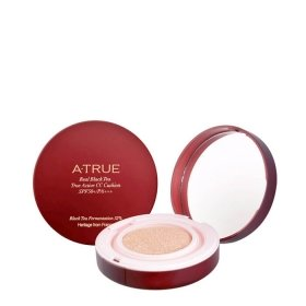 СС крем A-True Real Black Tea True Active CC Cushion