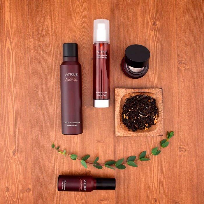 Эссенция для лица A-True Darjeeling Black Tea First Anti-Wrinkle Essence