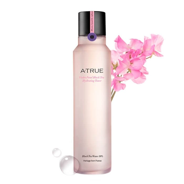 Тонер для лица A-True Violet Petal Black Tea Hydrating Toner