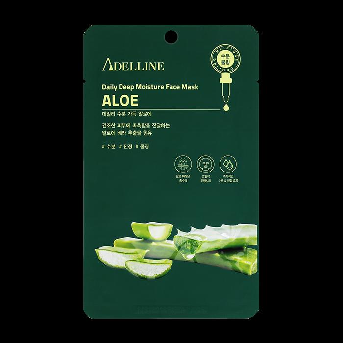 Тканевая маска Adelline Daily Deep Moisture Face Mask - Aloe