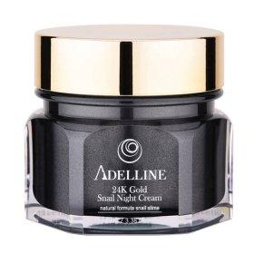Крем для лица Adelline 24K Gold Snail Night Cream